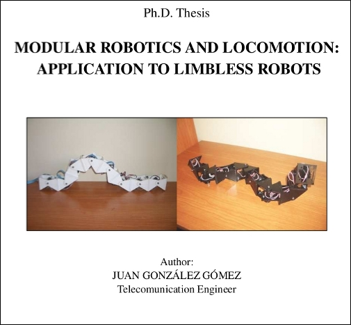 thesis statement on robotics Robotics thesis writing service to write a doctoral robotics dissertation for a graduate thesis degree.