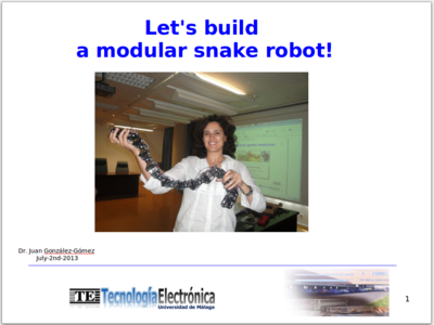 snake robot + thesis Integration of lars and snake robots &  design of a counterweight fixture for  snake on lars and robot assembly  johns hopkins university phd thesis.